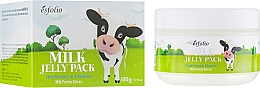 Парфюмерия и Козметика Лифтинг маска за лице - Esfolio Milk Shape Memory Jelly Pack