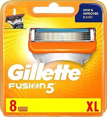 Сменяеми ножчета за бръснене, 8 бр. - Gillette Fusion