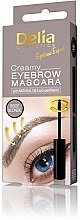 Парфюмерия и Козметика Кремообразна спирала за вежди - Delia Creamy Eyebrow Mascara