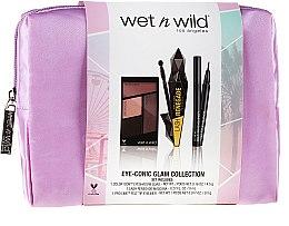 Парфюми, Парфюмерия, козметика Комплект - Wet N Wild Eye-Conic Glam Collection (палитра сенки/4.5g + молив за очи/0.5g + спирала/8ml + козм. чанта)