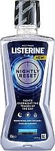 Парфюмерия и Козметика Дълбокопочистваща вода за уста - Listerine Nightly Reset