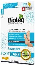 Парфюмерия и Козметика Пилинг чорапи за премахване на мазоли - Bioteq Exfoliating Socks Lavender