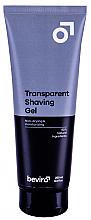 Парфюмерия и Козметика Гел за бръснене - Be-viro Men?s Only Transparent Shaving Gel