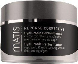 Парфюми, Парфюмерия, козметика Крем за лице с хиалуронова киселина - Matis Reponse Corrective Hyaluronic Performance Cream