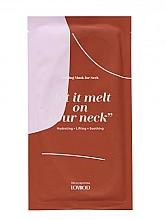 Парфюмерия и Козметика Топяща се маска за шия - Lovbod Melting Mask for Neck