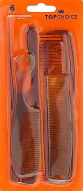 Комплект гребени за коса, 60465 - Top Choice — снимка N1