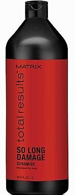 Възстановяващ шампоан за коса със серамиди - Matrix Total Results So Long Damage Shampoo — снимка N3