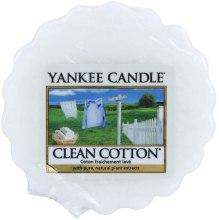 Парфюми, Парфюмерия, козметика Ароматен восък - Yankee Candle Clean Cotton Tarts Wax Melts