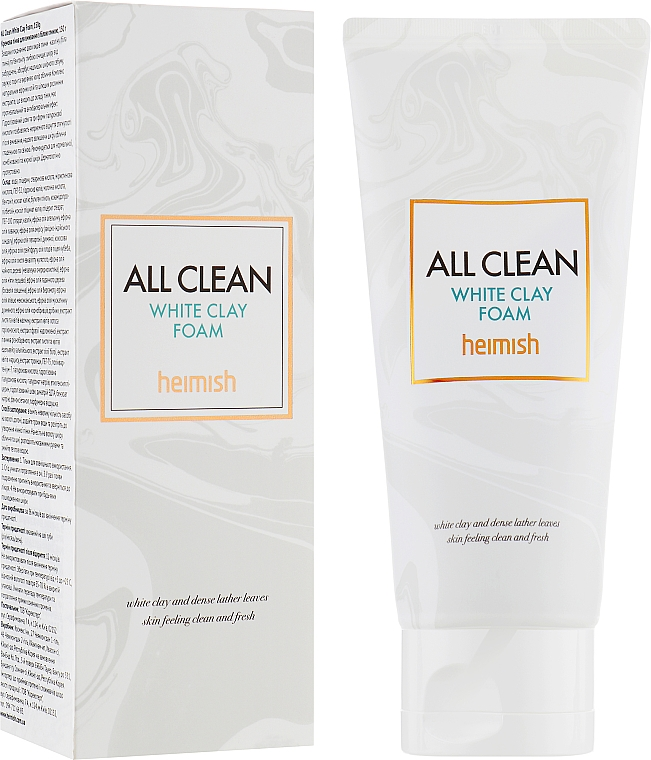 Почистваща пяна за лице - Heimish All Clean White Clay Foam