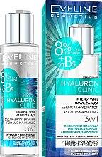 Парфюмерия и Козметика Хидратираща есенция за лице - Eveline Cosmetics Hyaluron Clinic