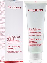 Парфюми, Парфюмерия, козметика Почистващ продукт за лице - Clarins Gentle Foaming Cleanser with Tamarind