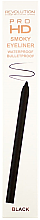 Контуриращ молив за очи - Makeup Revolution HD Pro Smoky Waterproof Eyeliner — снимка N2