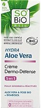 Парфюми, Парфюмерия, козметика Защитен крем за лице с алое вера - So'Bio Etic Hydra Aloe Vera Creme