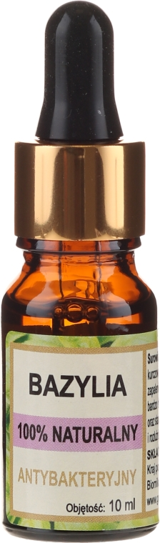 """Натурално масло """"Босилек"""" - Biomika Oil Basil — снимка N1"""
