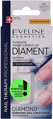Диамантен възстановяващ комплекс за нокти - Eveline Cosmetics Nail Therapy Professional  — снимка N2