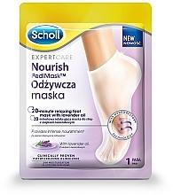 Парфюмерия и Козметика Маска за крака с лавандулово масло - Scholl Expert Care Foot Mask