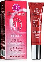 Парфюмерия и Козметика Интензивен лифтинг крем за околоочна зона и устни - Dermacol BT Cell Eye&Lip Intensive Lifting Cream