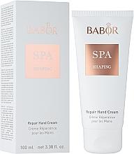 Парфюмерия и Козметика Възстановяващ крем за ръце - Babor SPA Shaping Repair Hand Cream