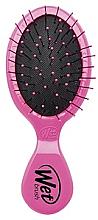 Парфюми, Парфюмерия, козметика Компактна четка за коса, розова - Wet Brush Mini Squirt Classic