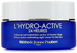 Парфюми, Парфюмерия, козметика Активен овлажняващ нощен крем за лице - Methode Jeanne Piaubert LHydro Active 24-Heures