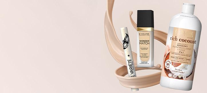 Намаление 10% на всички продукти Eveline Cosmetics. Посочената цена е след обявената отстъпка