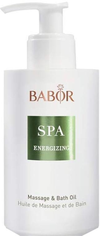 Масло за масаж и вана - Babor Energizing Massage & Bath Oil — снимка N1