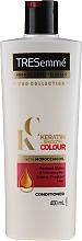 Парфюмерия и Козметика Балсам за мека и блестяща боядисана коса - Tresemme Keratin Smooth Colour Conditioner With Maroccan Oil