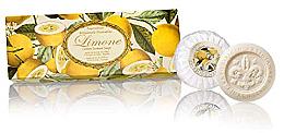 Парфюми, Парфюмерия, козметика Комплект сапуни с аромат на лимон - Saponificio Artigianale Fiorentino Lemon Soap