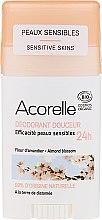 Парфюмерия и Козметика Стик дезодорант - Acorelle Deodorant Stick Gel Almond Blossom