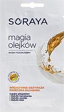 Парфюмерия и Козметика Маска за лице - Soraya Magic Of Oils Intensively Nourishing Oil Mask