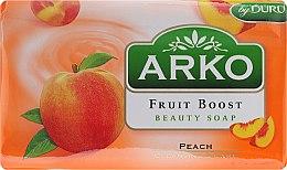 Парфюмерия и Козметика Сапун - Arko Fruit Boost Beaty Soap Peach