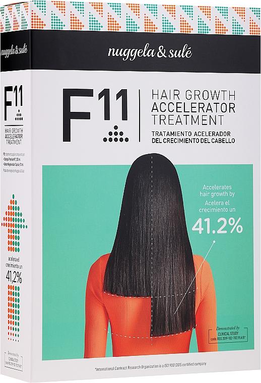 Комплект за коса - Nuggela & Sule F11 Hair Growth Accelerating Treatment (шампоан/250ml+серум/70ml)