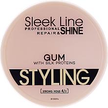 Парфюмерия и Козметика Гел за коса - Sleek Line Styling Gum With Silk