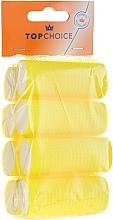 """Парфюмерия и Козметика Ролки за коса """"Velcro"""" 25мм, 8 бр., 3387 - Top Choice"""
