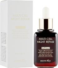 Парфюмерия и Козметика Нощен серум за лице - Secret Key Multi Cell Night Repair Ampoule