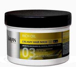 Парфюмерия и Козметика Крем-маска за суха и увредена коса - Kayan Professional Rich Oil Creamy Hair Mask