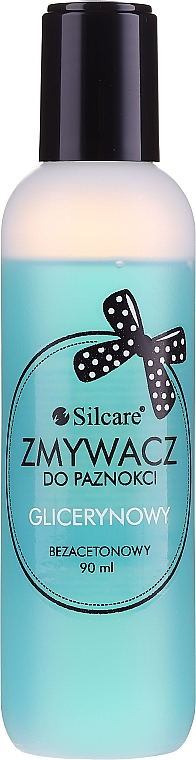 Лакочистител без ацетон - Silcare Acetone-Free Nail Polish Remover
