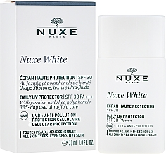 Парфюмерия и Козметика Слънцезащитно средство за лице - Nuxe White Daily UV Protector SPF30 PA+++