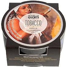 """Парфюмерия и Козметика Соева ароматна свещ """"Тютютн и ванилия"""" - House of Glam Tobacco & Vanilla Candle (мини)"""