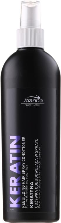 Балсам-спрей за коса с кератин - Joanna Professional Rebuilding Hair Spray Conditioner