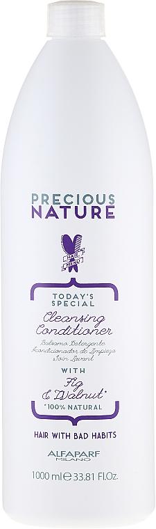 Почистващ балсам за коса - Alfaparf Precious Nature Cleansing Conditioner for Thirsty Hair — снимка N3