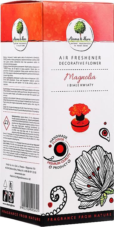 "Ароматизатор за дома ""Магнолия и бели цветя"" - Aroma & More Air Freshener"