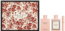 Парфюми, Парфюмерия, козметика Gucci Bloom - Комплект (edp/75ml + edp/7.4ml + b/lot/100ml)