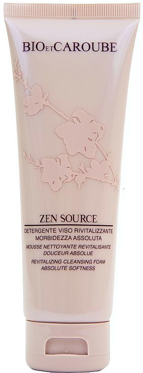 Възстановяваща почистваща пяна за лице - Bio et Caroube Zen Source Revitalizing Cleansing Foam Absolute Softness — снимка N1