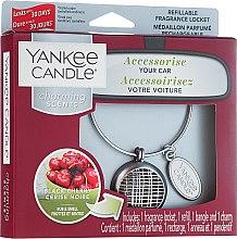 Парфюми, Парфюмерия, козметика Ароматизатор за кола - Yankee Candle Charming Scents Black Cherry Linear