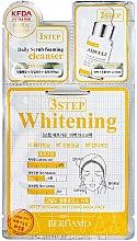 Парфюми, Парфюмерия, козметика Тристепенна маска за лице - Bergamo 3-Step Whitening Mask Pack