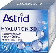 Парфюмерия и Козметика Дневен крем за лице - Astrid Hyaluron 3D