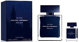 Парфюми, Парфюмерия, козметика Narciso Rodriguez For Him Bleu Noir - Комплект тоалетна вода (edt/100ml + edt/10ml)