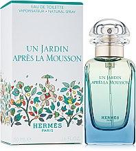 Парфюми, Парфюмерия, козметика Hermes Un Jardin Apres la Mousson - Тоалетна вода