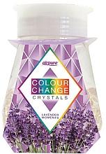 """Парфюмерия и Козметика Гел освежител на кристали """"Лавандула"""" - Airpure Colour Change Crystals Lavender Moments"""
